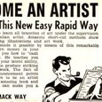 'Become an artist' - Man Magazine December 1965